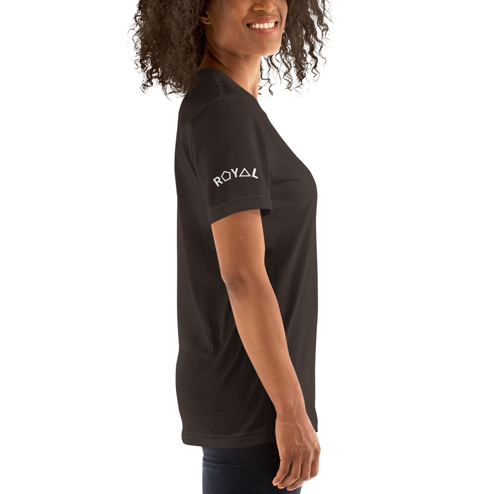 ROYAL. | STATEMENT | unisex gRAf it tee WHY NOT WIN? Brown & Black Varieties