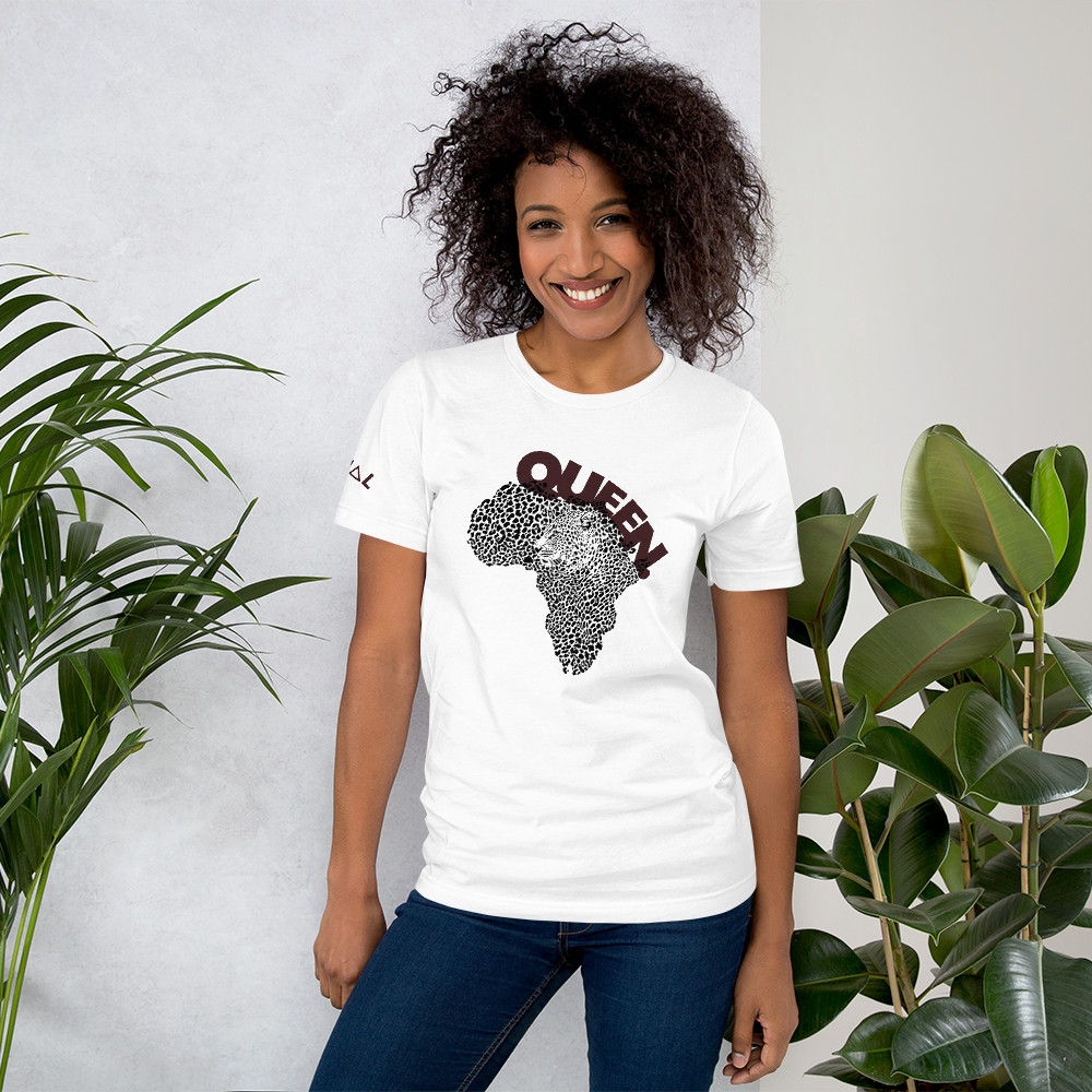 ROYAL WEAR | EMPOWER. AFRIKA CHEETAH QUEEN ART 2 MAROON