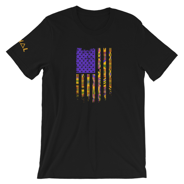 ROYAL WEAR | Empower. We Are America. Kente Flag