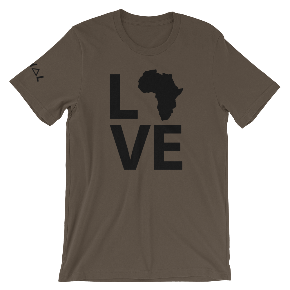 ROYAL. WEAR | Love Afrika. Nu Afrique. Unisex Variety Tees 6 Colors