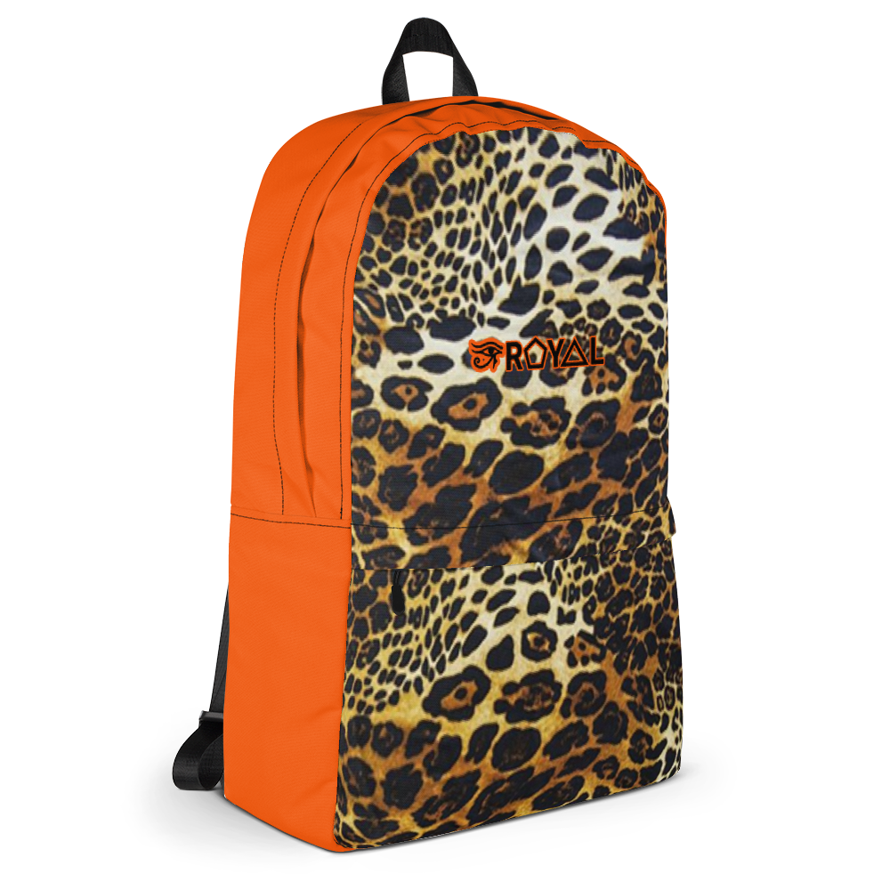 ROYAL. | Urban Resort Ra Pack Lightweight Backpack with hidden pocket cheetah