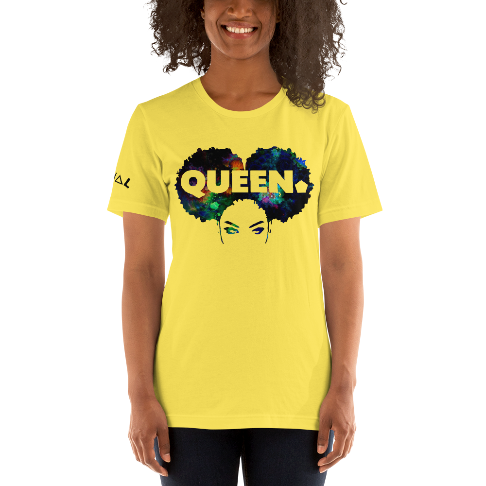 ROYAL. WEAR | 4 QUEENS Trippy Psychadelic GOD IS A BLACK WOMAN 2 unisex tee 3 VARIETIES