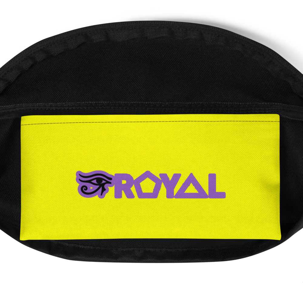 ROYAL. | Urban Resort Ra Pack Crossbody All Over Ankh Royal Emblem Ascending Violet & Pretty In Pink