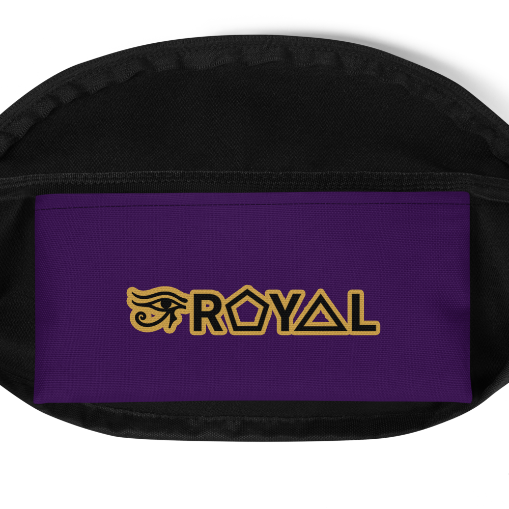 ROYAL. | Urban Resort Ra Pack Crossbody Unisex All Over Ankh Solid Hues 4 Varieties