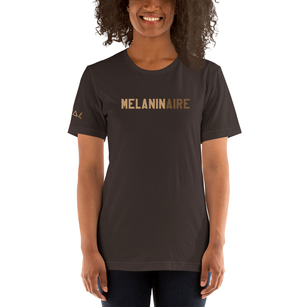 ROYAL. | STATEMENT | unisex gRAf it tee MELANINAIRE Brown & Black Varieties