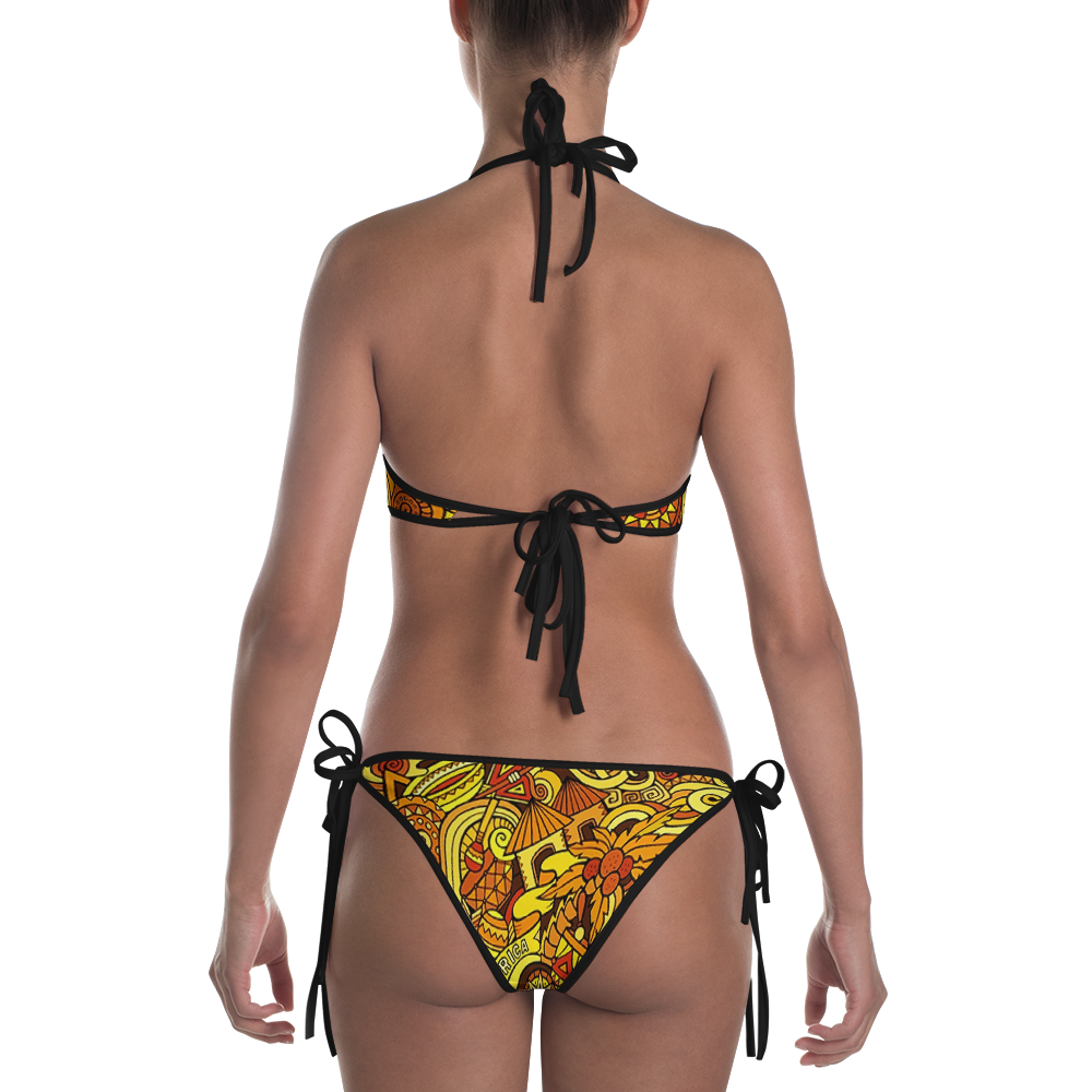 ROYAL. |  Urban Resort | NU AFRIQUE Eye of Ra Reversible Bikini Mother Afrique