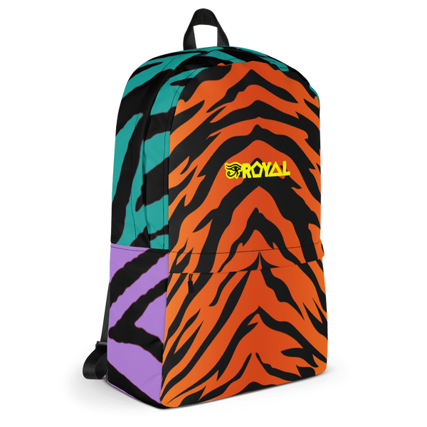 ROYAL. | Urban Resort Ra Pack Lightweight Backpack with hidden Pocket Supercats Celebrate