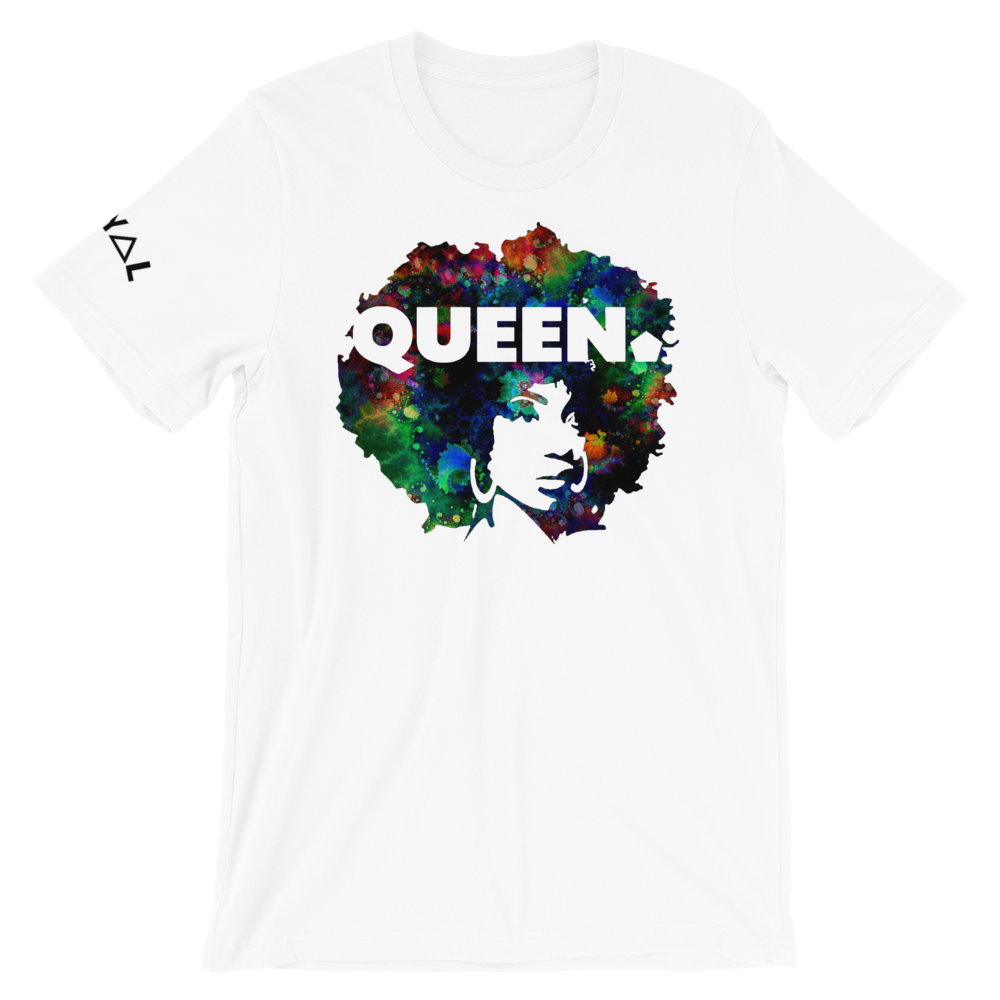 ROYAL. WEAR | 4 QUEENS Trippy Psychadelic GOD IS A BLACK WOMAN 1 unisex tee 3 VARIETIES