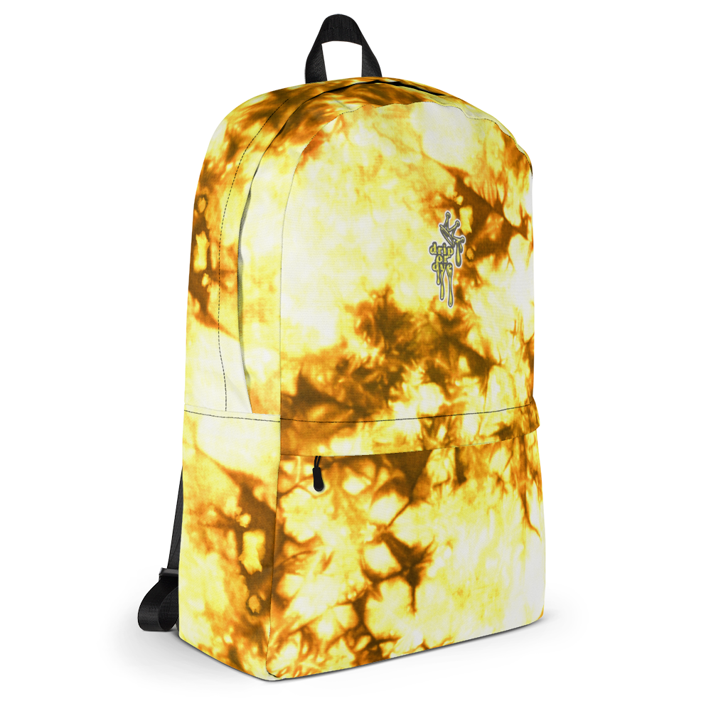 DRIP OR DYE | Cosmic Crush Ice Krackle Crystal Color Cloud Autumn Sunshine Thru Trees Tie Dye Lite Backpack