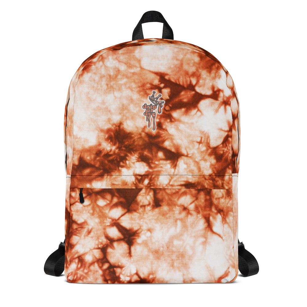 DRIP OR DYE | Cosmic Crush Ice Krackle Crystal Color Cloud Rust Lava Tie Dye Lite Backpack