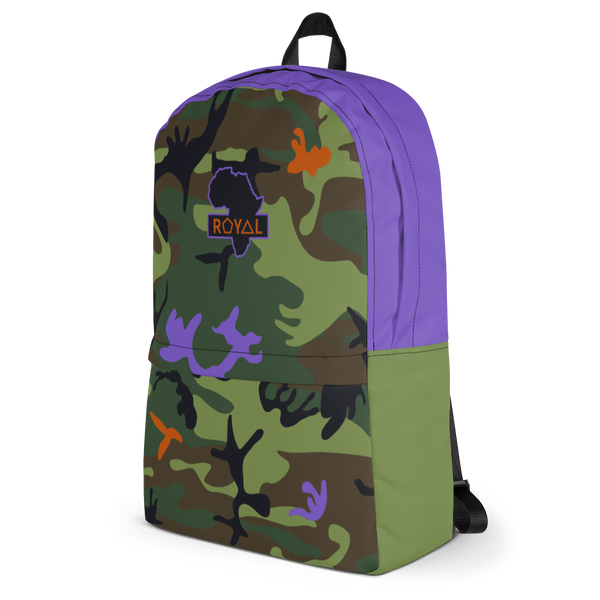 ROYAL. WEAR | Trippy CAMO Liteweight Backpack with hidden pocket 2 Varieties