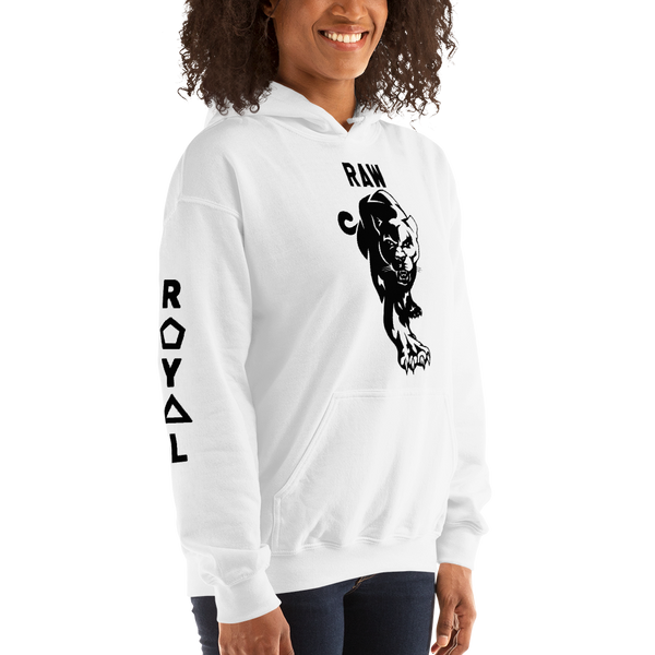 ROYAL. | Retro Guerilla Raw Panther | UNISEX HOODIE (3 VARIETIES)