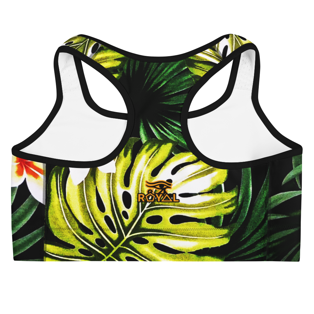 ROYAL. |  Urban Resort | CONSCIOUS CULTURE Eye of Ra Fashion Sports Bra TROPICALE DELIGHT 3