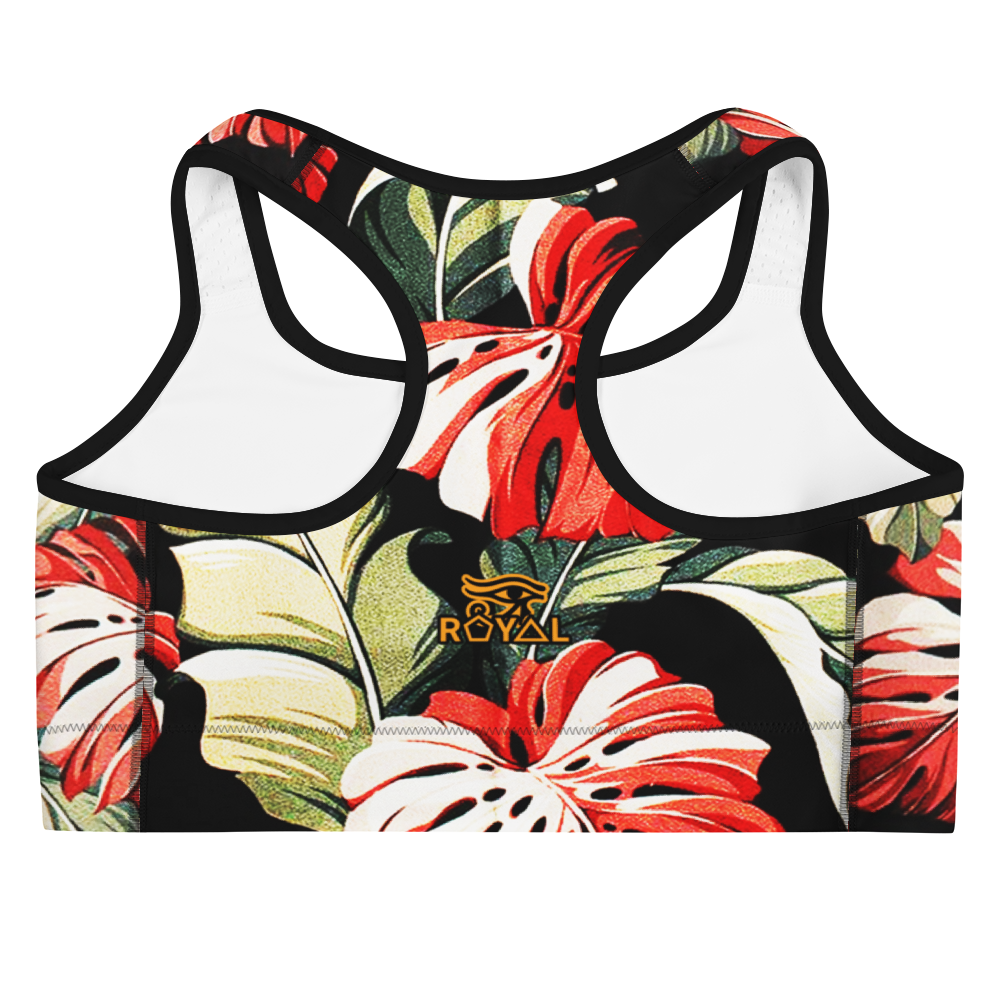 ROYAL. |  Urban Resort | CONSCIOUS CULTURE Eye of Ra Fashion Sports Bra TROPICALE DELIGHT 4