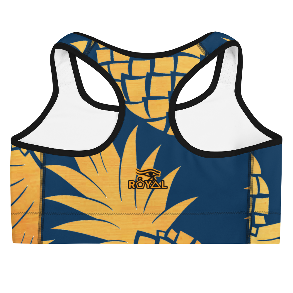 ROYAL. |  Urban Resort | CONSCIOUS CULTURE Eye of Ra Fashion Sports Bra PINEAPPLE DREAMS 2
