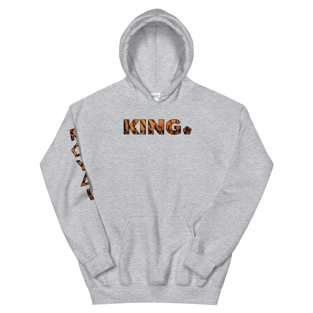 ROYAL. WEAR | HUMAN-IMAL KING STATEMENT HOODIE ZEN FIGHTER TIGER BASICS VARIETIES