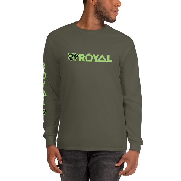 ROYAL. |  Urban Resort | Ra Conscious Culture Unisex Long Sleeve KIWI GREEN 8 VARIETIES