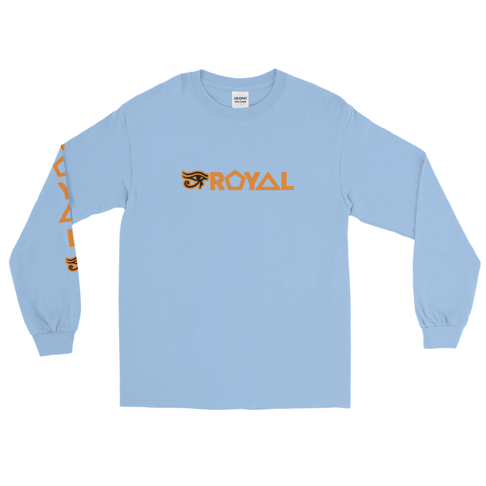 ROYAL. |  Urban Resort | Ra Conscious Culture Unisex Long Sleeve ORANGE 8 VARIETIES