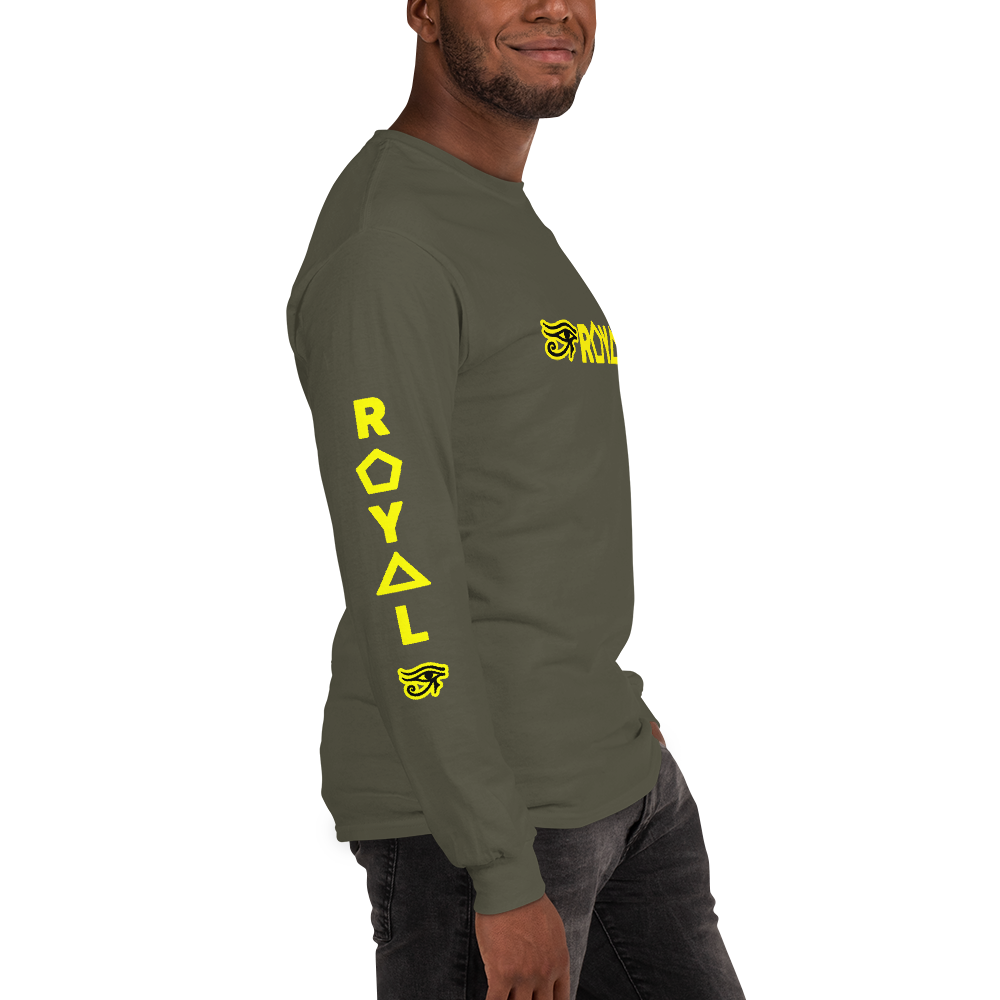 ROYAL. |  Urban Resort | Ra Conscious Culture Unisex Long Sleeve YELLOW 11 VARIETIES