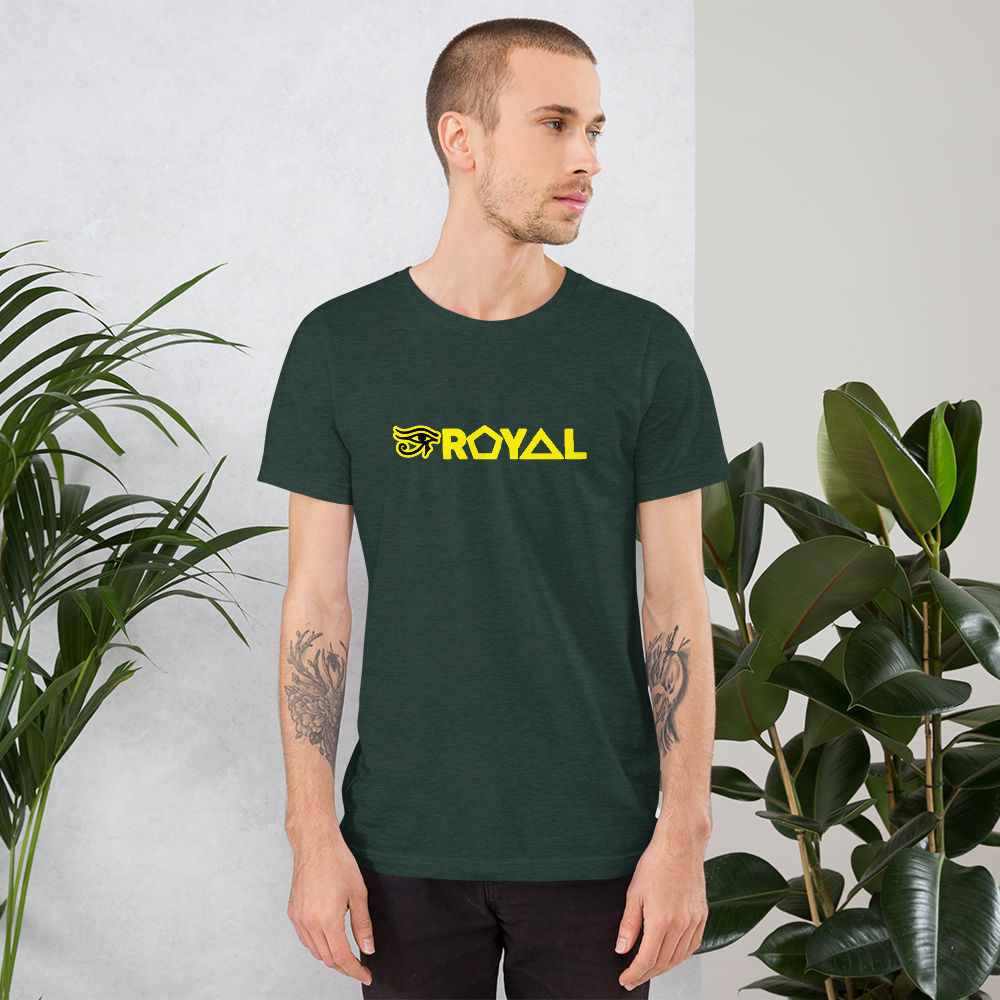 ROYAL. |  Urban Resort | Conscious Culture Unisex Ra Tees YELLOW 9 VARIETIES