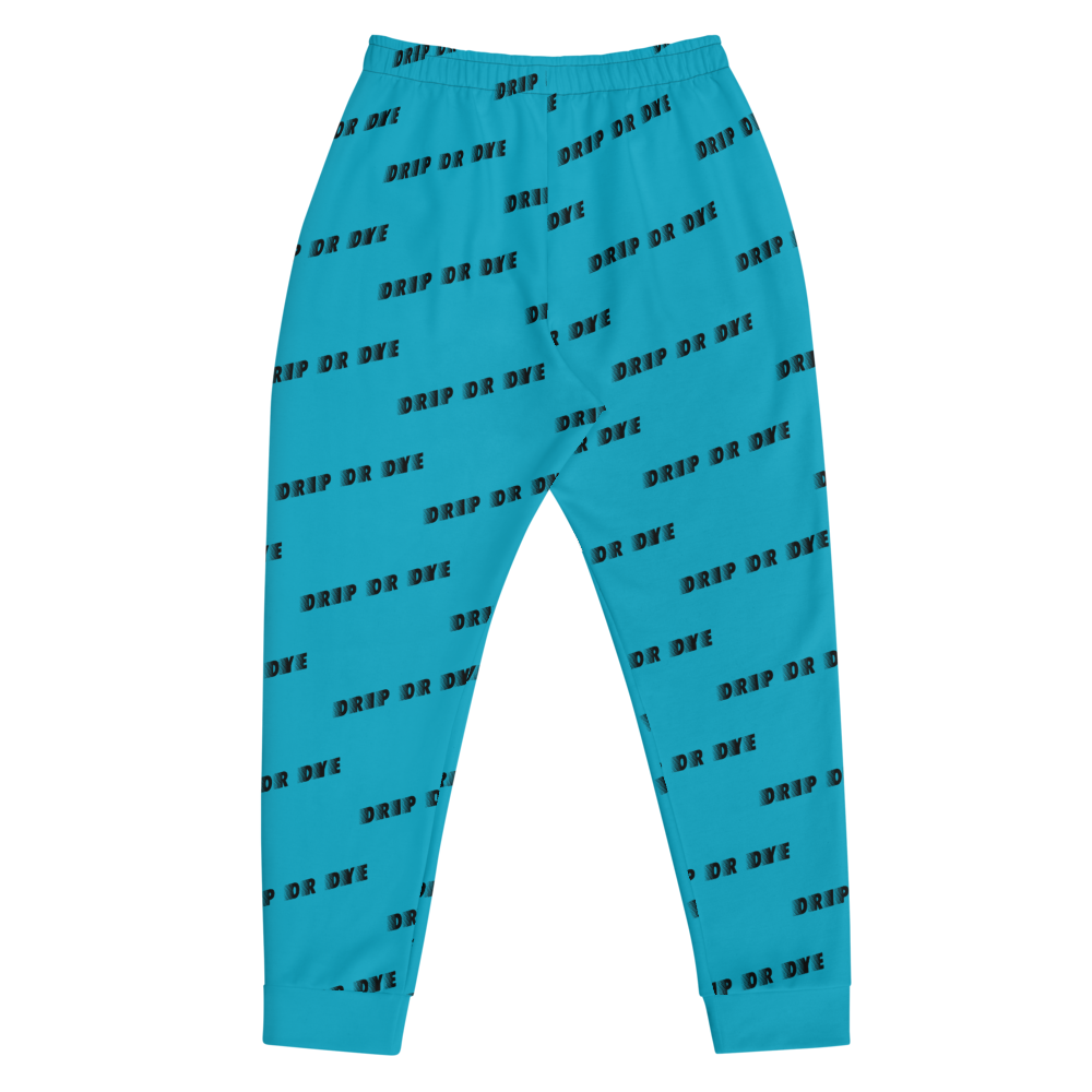 CRXWN | Drip or Dye | Racer Season 1 Unisex Jogger Racing Stripes Sweatpant Zoom Sky Blue