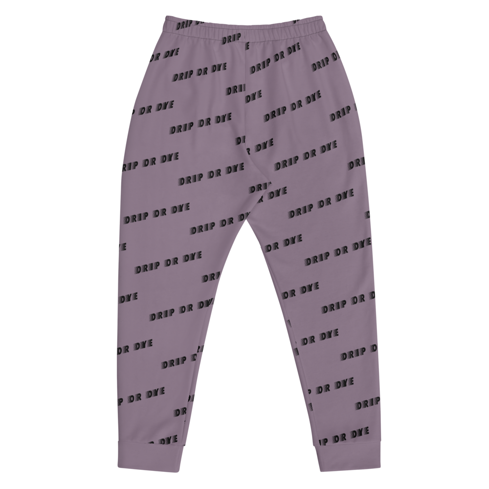 CRXWN | Drip or Dye | Racer Season 1 Unisex Jogger Racing Stripes Sweatpant Zoom Matte Purple Haze