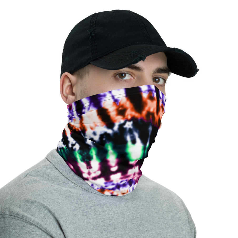 CRXWN | Drip or Dye Custom Tie Dye UNISEX Face Mask