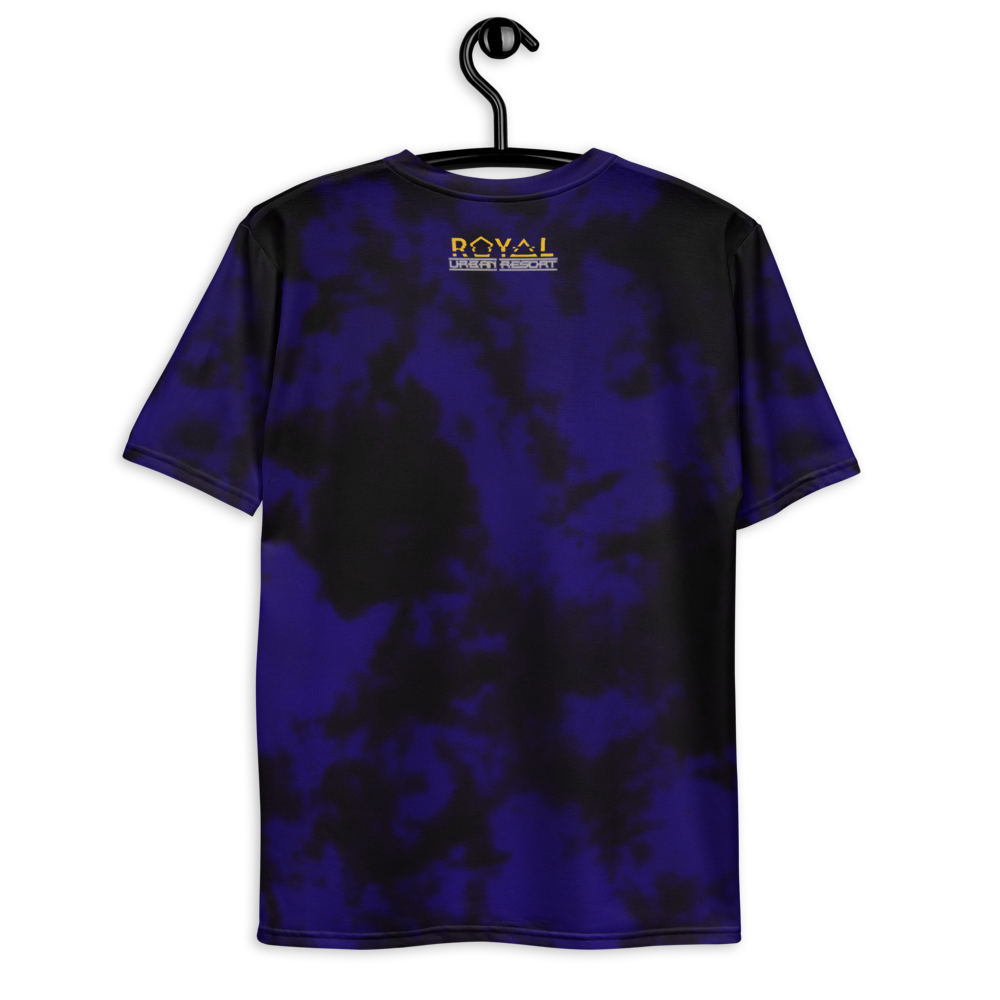 CRXWN | ROYAL Urban Resort 2021 | Royal Drip | D4L Drip 4 Life Infinite Acid Wash Retro Disco Jersey Tee Golden Pharaoh Hyper Cobalt Blue
