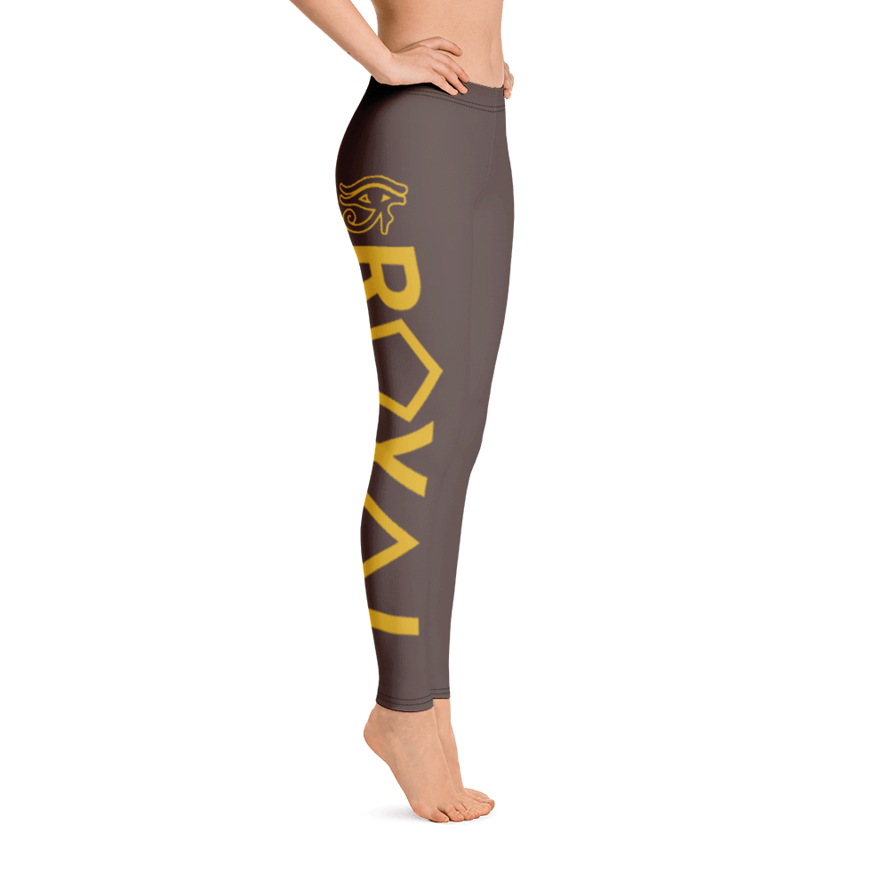 ROYAL. | Urban Resort | RA LEGGINGS GRAND RISE earthtone brown (2 VARIETIES)