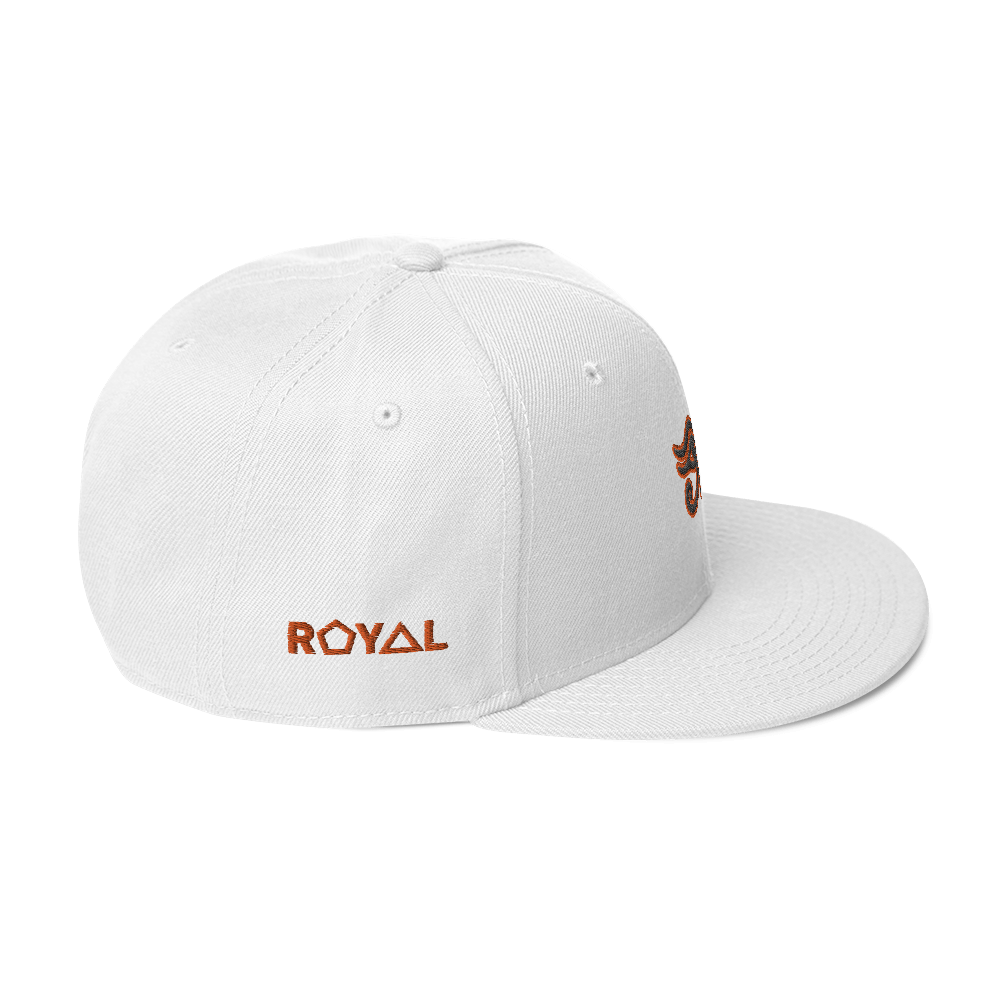 ROYAL. | Urban Resort | Conscious Culture Eye of Ra Crxwn Snapback ORANGE 11 VARIETIES