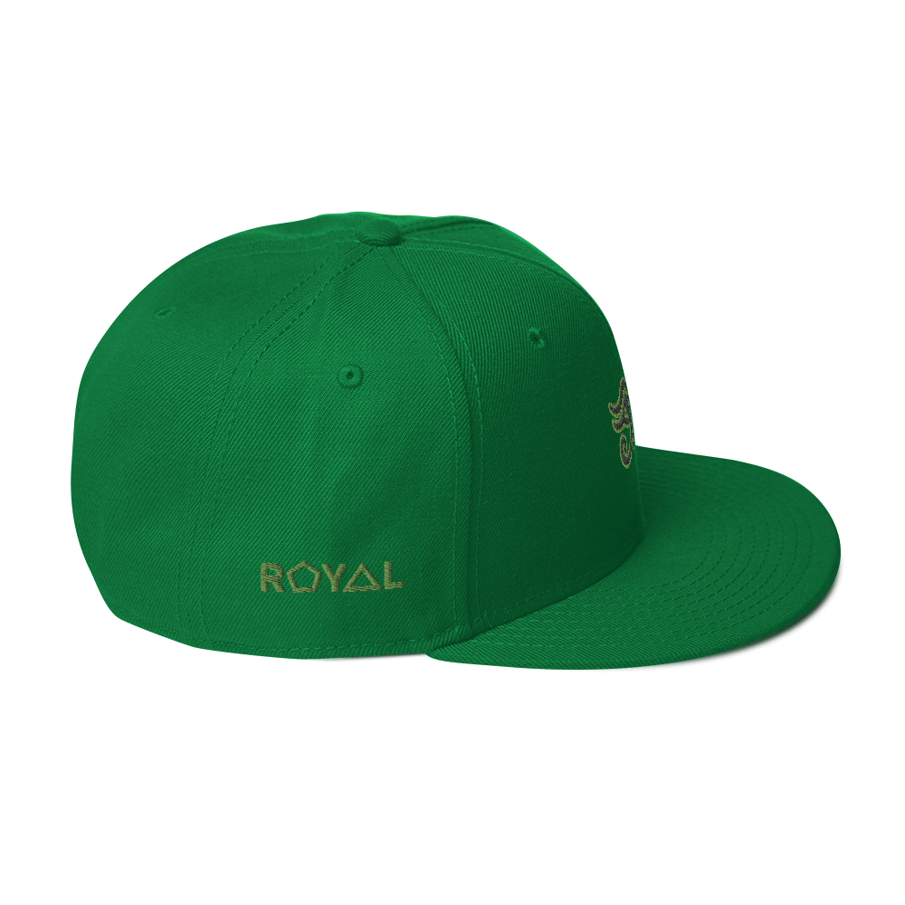 ROYAL. | Urban Resort | Conscious Culture Eye of Ra Crxwn Snapback KIWI 8 VARIETIES