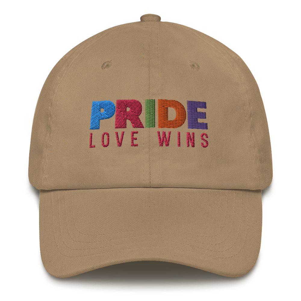 FEMME UNIV | LGBTQ PRIDEFEST Love Wins Pride Mom Cap VARIETY COLORS AVAILABLE