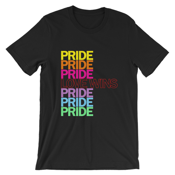 FEMME UNIV | LGBTQ PRIDEFEST Love Wins Pride Unisex Tees VARIETIES AVAILABLE