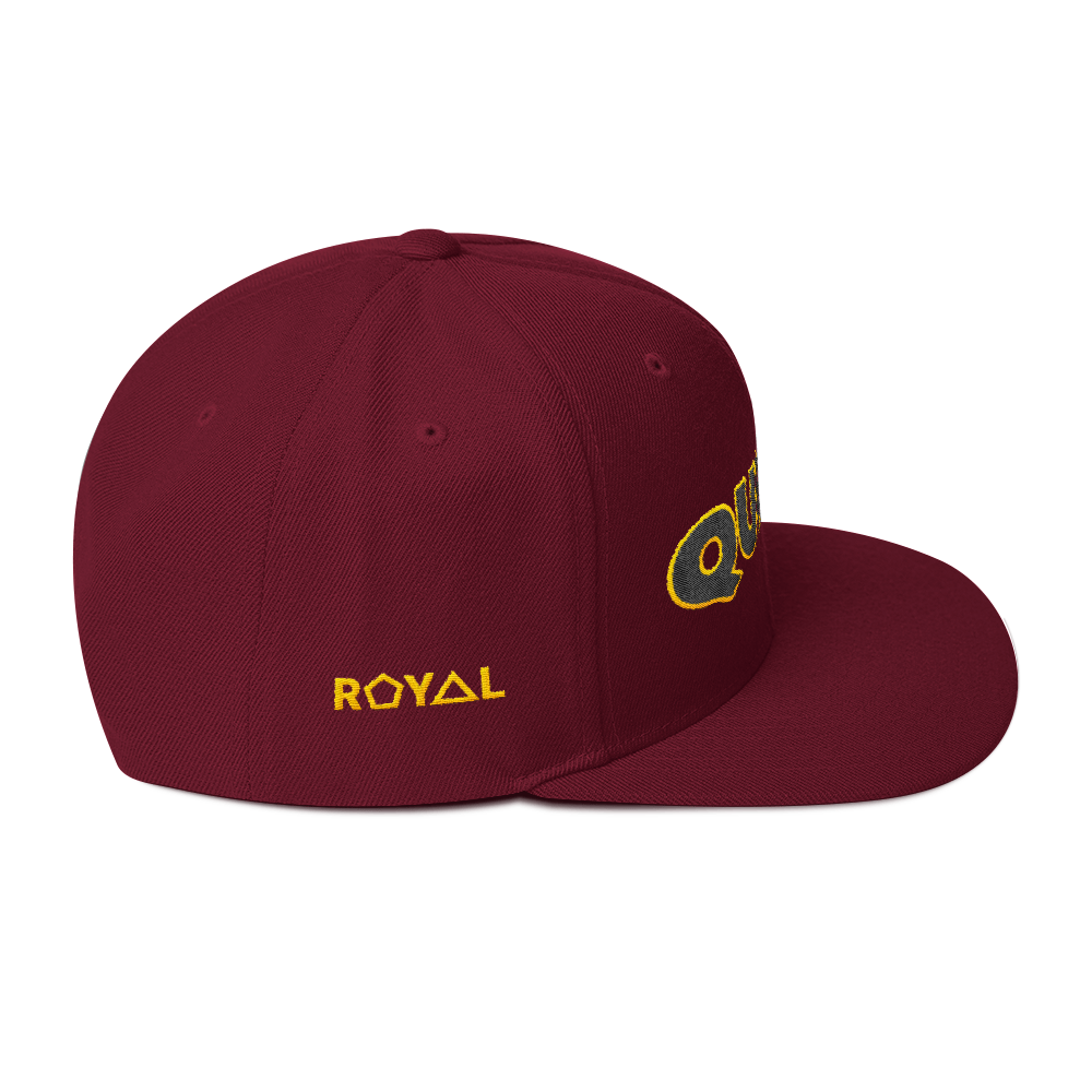 .R.O.Y.A.L. URBAN RESORT SNAPBACK QUEEN. HONEYCOMB 7 VARIETIES