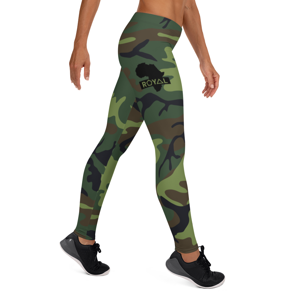 ROYAL WEAR | CAMO BASIC COMFORT LEGGINGS