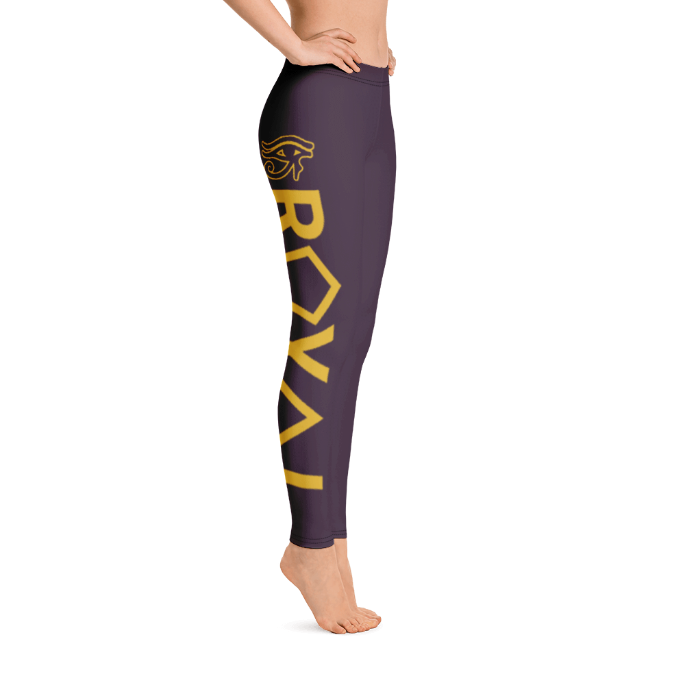 ROYAL. | Urban Resort | RA LEGGINGS GRAND RISE royale purple (3 VARIETIES)