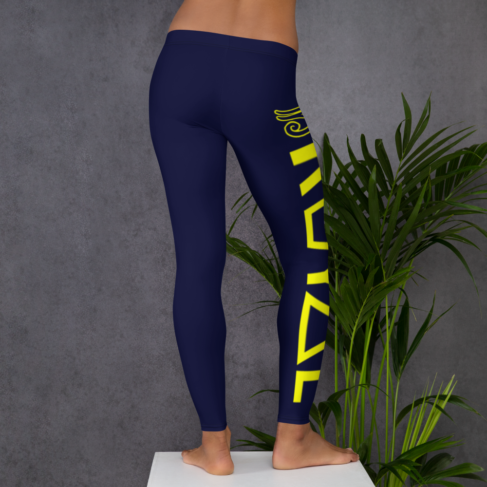 ROYAL. | Urban Resort | RA LEGGINGS GRAND RISE royal blue (4 VARIETIES)