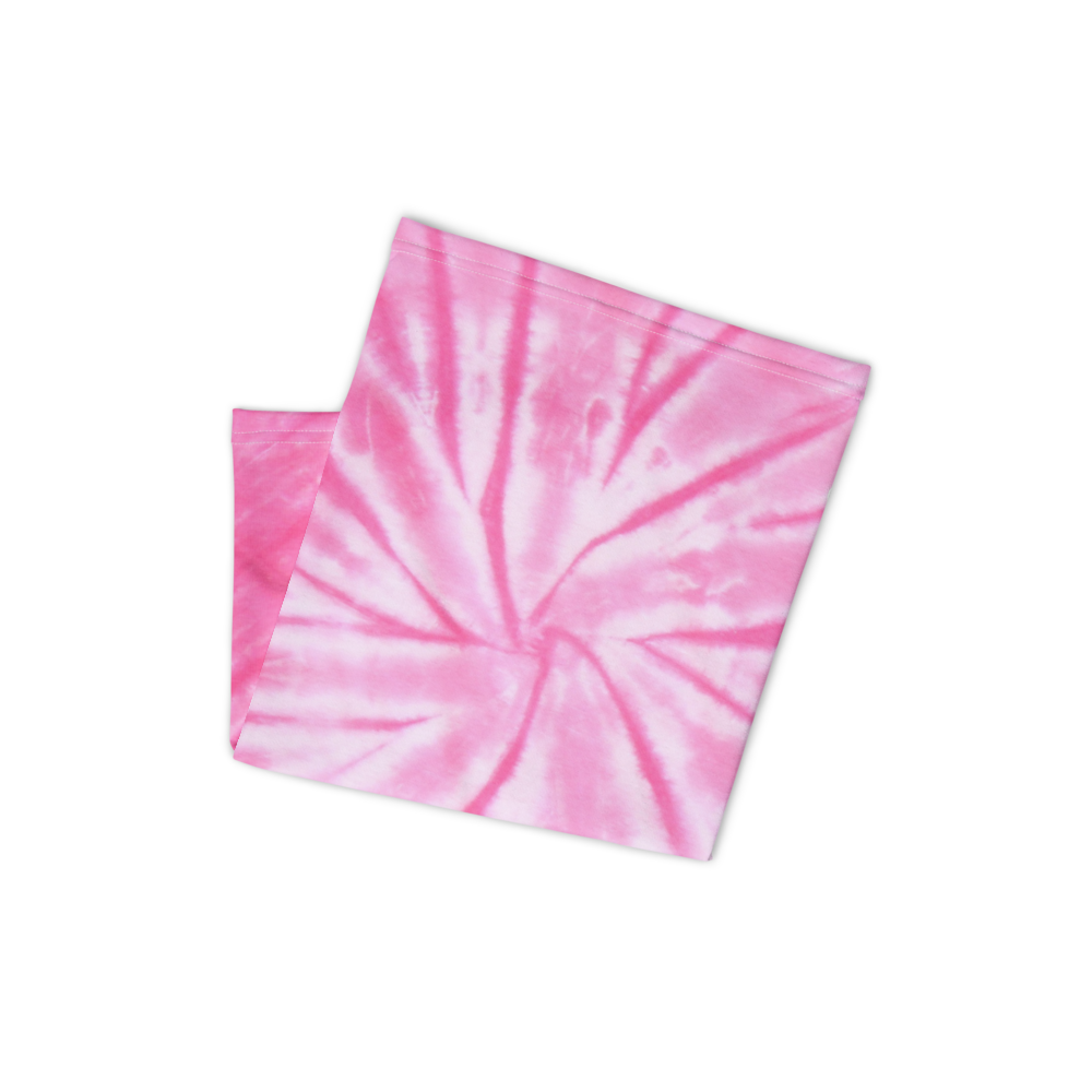 CRXWN | Drip or Dye Custom Tie Dye 3-in-1 UNISEX Face Mask PINK