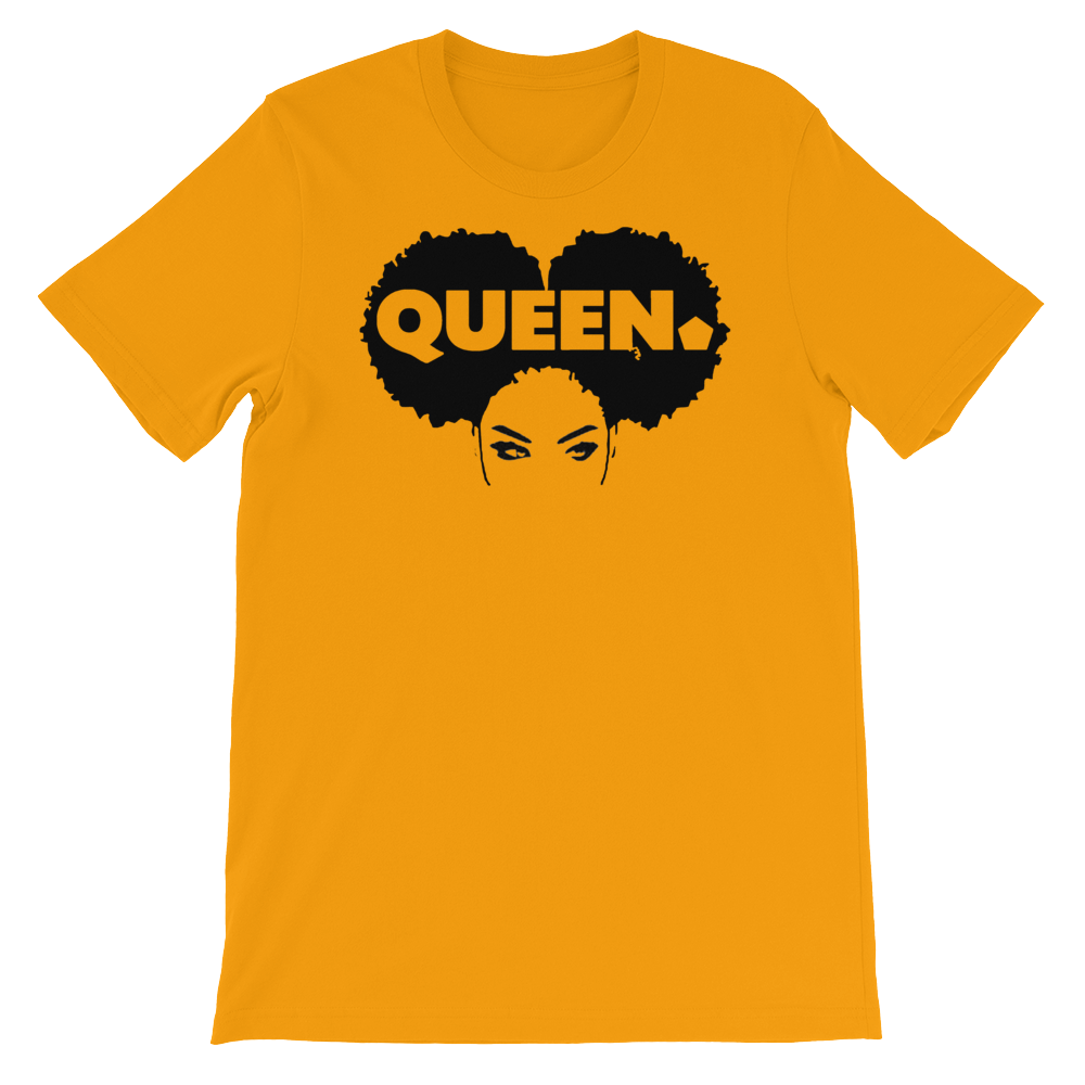 ROYAL. Unisex Melanin Magic 4 Queens_Queen of Clubs VARIETY COLORS