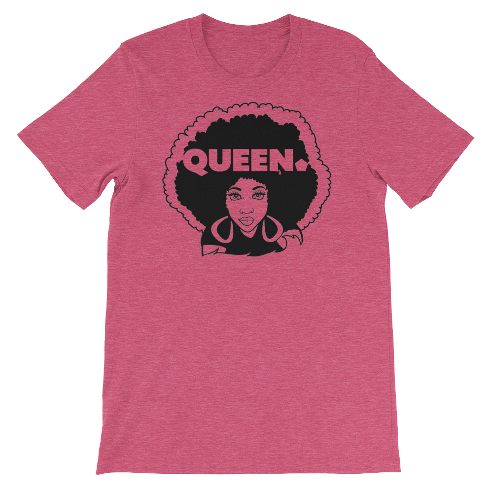 ROYAL. Unisex Melanin Magic 4 Queens_Queen of Spades VARIETY COLORS