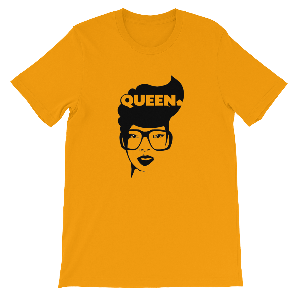 ROYAL. Unisex Melanin Magic 4 Queens_Queen of Hearts VARIETY COLORS