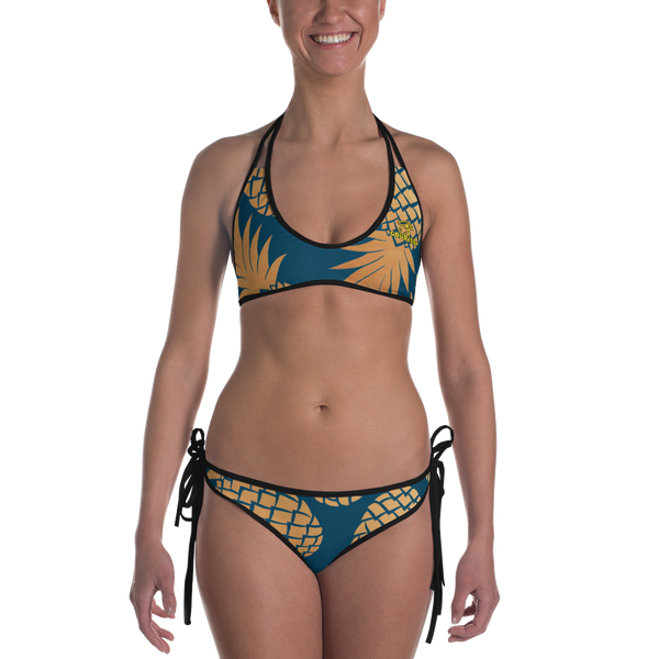 ROYAL. |  Urban Resort | CONSCIOUS CULTURE Eye of Ra Reversible Bikini PINEAPPLE DREAMS