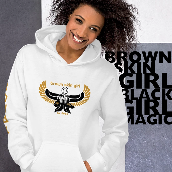 ROYAL. | EMPOWER | Ankhs and Isis BROWN SKIN GIRL and BLACK GIRL MAGIK VARIETIES
