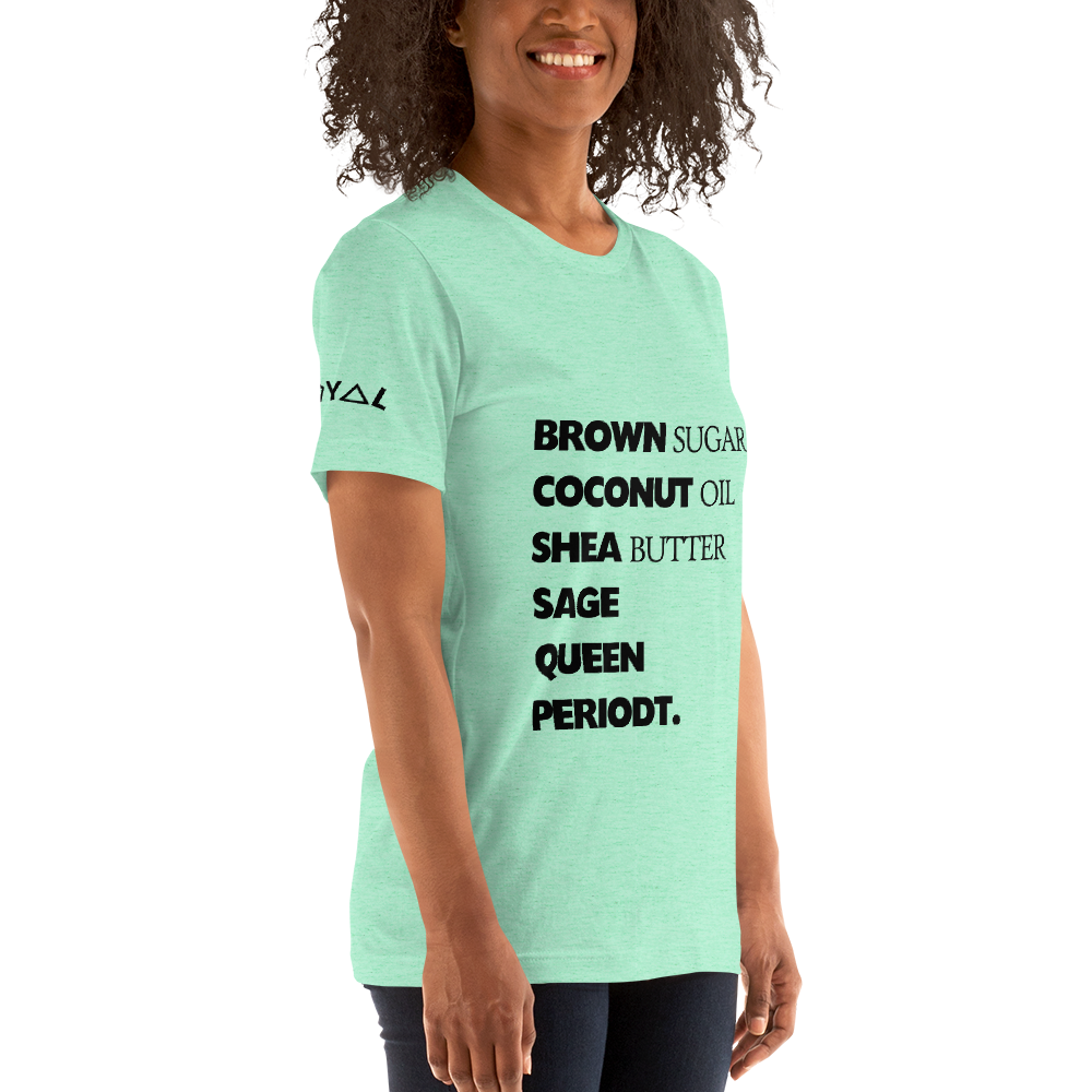 ROYAL WEAR | Empower GOD IS A BLACK WOMAN the Recipe Candy Colors