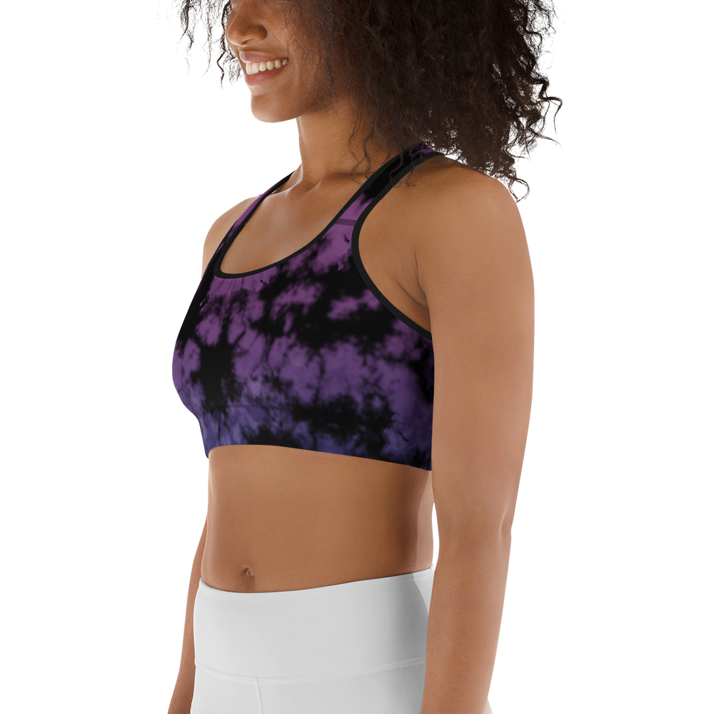 CRXWN | Drip or Dye Max 720 Bubble Pack HER Collection Acid Wash Tye Dye Sports Bra