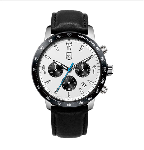 Culture Chronograph- Panda - Nine Four Watches