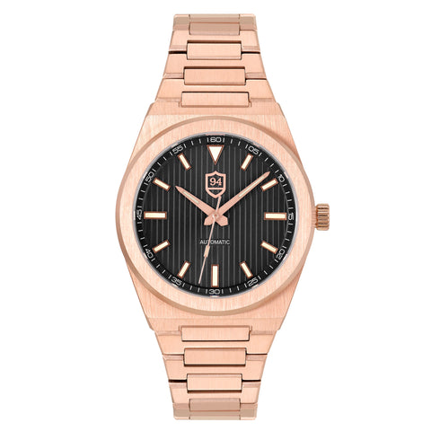 Successor Automatic- Rose Gold/Black Dial