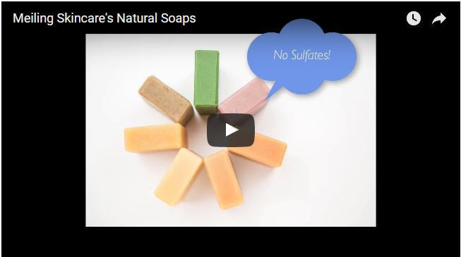 Meiling Skincare's Natural Soap Introductions