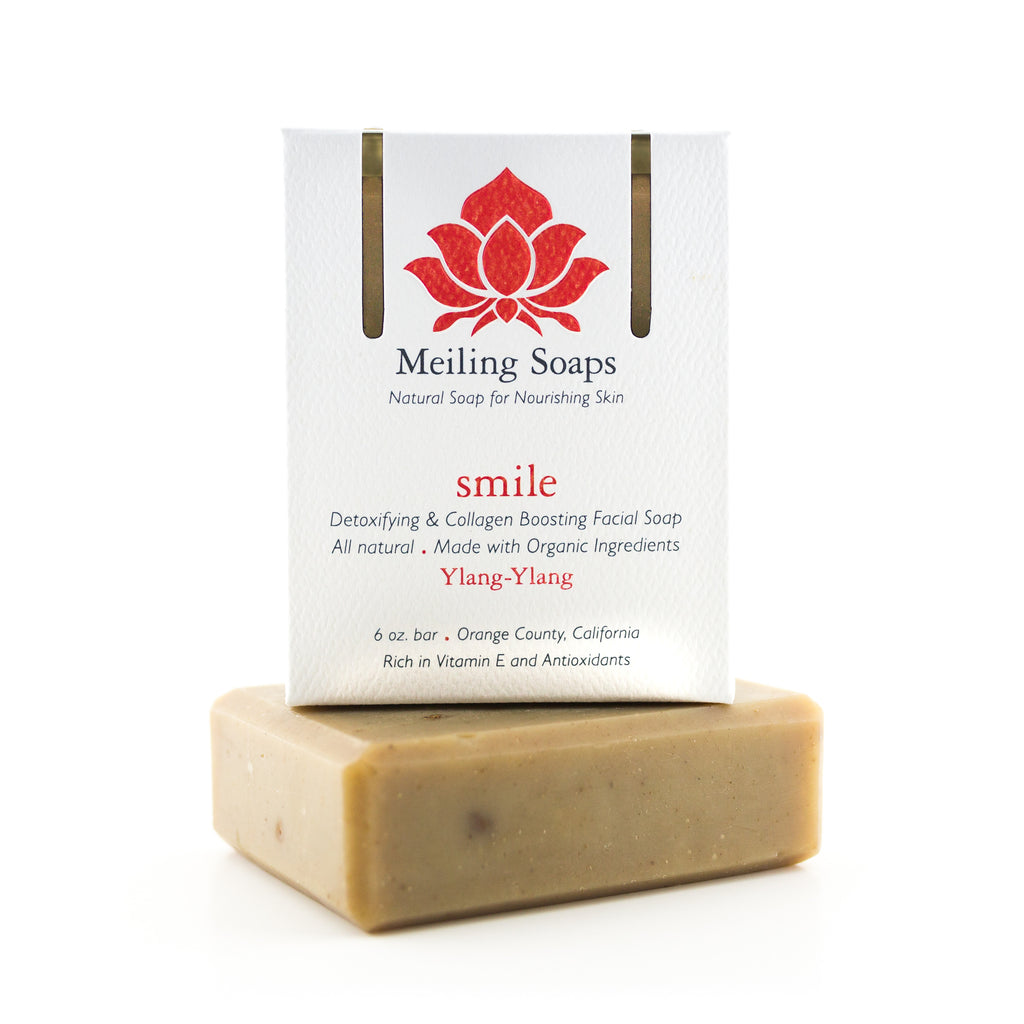Smile Natural Soap with Skin Toning & Brightening, Detoxing & Collagen Boosting Powers