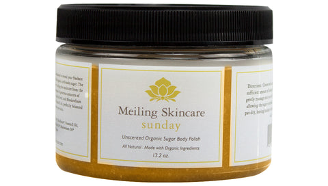 Introducing Meiling Skincare's Organic Sunday Body Scrub!